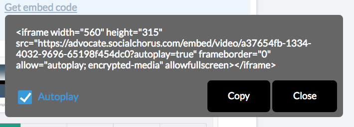 Use Code View to Embed Content in Articles – SocialChorus